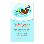 Scruffy Groomers Pet Grooming Business Card