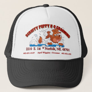 Scruffy Puppy K-9 Grooming cap