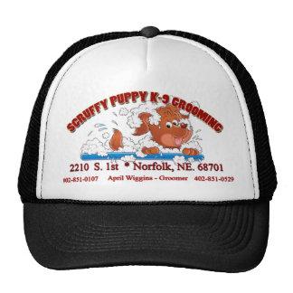 Scruffy Puppy K-9 Grooming cap Trucker Hat