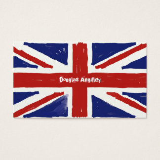 Scruffy Union Jack, Business Card