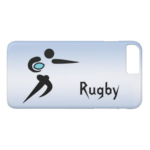 Scrum Ball Rugby Player iPhone 8/7 Plus Case