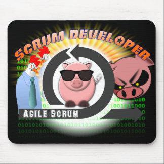 Scrum Developer Mousepad - Agile