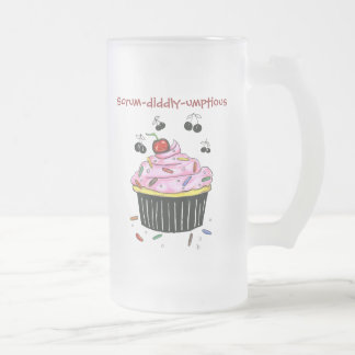 Scrum-diddly-umptious Cupcake frosted mug