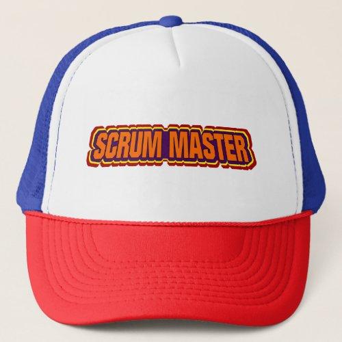 Scrum Master Bold Trucker Hat