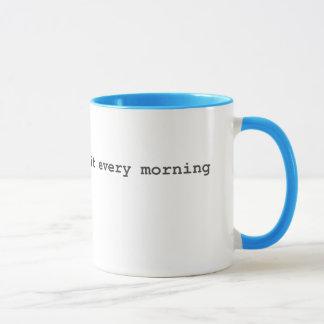 Scrum Masters Do It Every Morning Mug