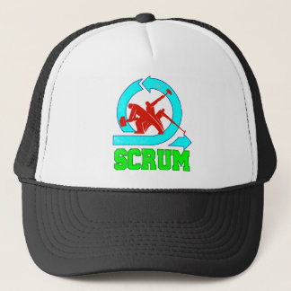 Scrum Workers - Vintage Style Trucker Hat