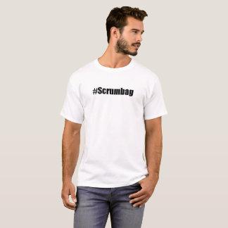 #Scrumbag T-shirt (black font)