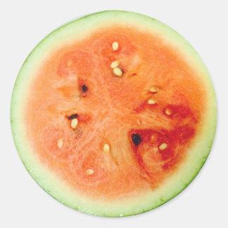 Scrummie Watermelon Fun 4Amelie Classic Round Sticker