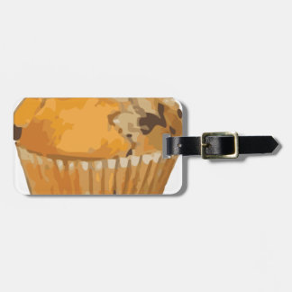 Scrumptious Blueberry Muffin Delicious Dessert Bag Tag