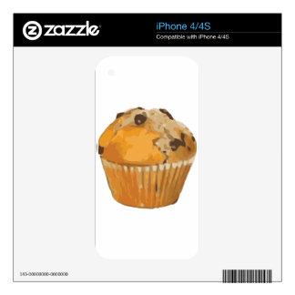 Scrumptious Blueberry Muffin Delicious Dessert iPhone 4 Skin