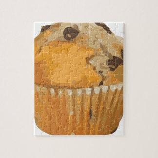 Scrumptious Blueberry Muffin Delicious Dessert Jigsaw Puzzle