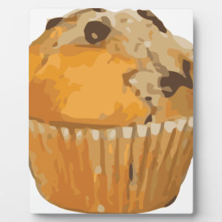 Scrumptious Blueberry Muffin Delicious Dessert Plaque