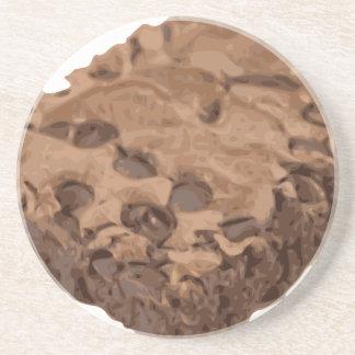 Scrumptious Brownie Sweet Dessert Drink Coaster
