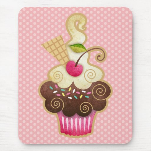 Scrumptious Cupcake Mouse Pad