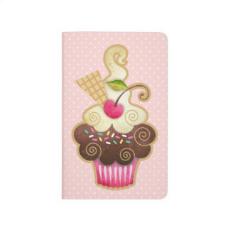 Scrumptious Cupcake Pocket Journal Notebook