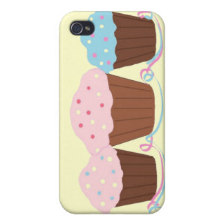 Scrumptious Cupcakes iPhone 4 Case