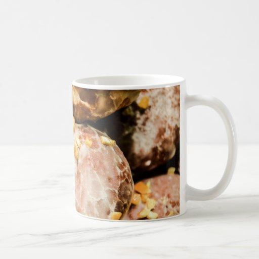 Scrumptious Nutty Glazed Donuts Mug