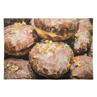 Scrumptious Nutty Glazed Donuts Placemats