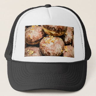 Scrumptious Nutty Glazed Donuts Trucker Hat