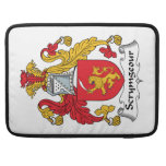 Scrymgeour Family Crest Sleeves For MacBook Pro