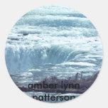 SCS_0002, amber lynn patterson Classic Round Sticker