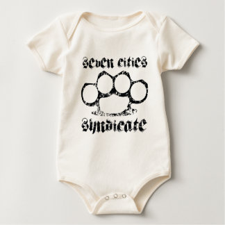 SCS brass knuckle Baby Bodysuit