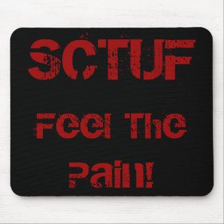 ¡SCTUF, sienten el dolor! Alfombrilla De Ratones