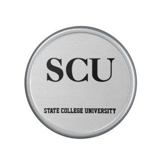 scu state college university bluetooth speaker