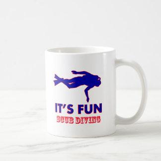 scub diving Designs Coffee Mug