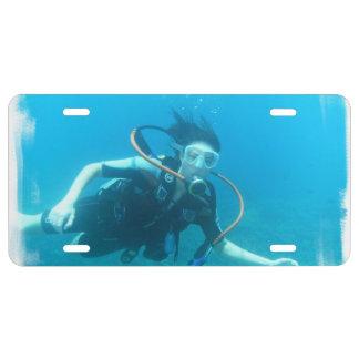 scuba-13.jpg license plate