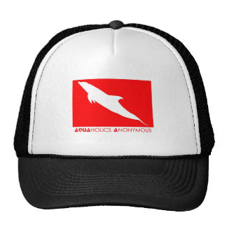 Scuba - Aquaholics Anonymous Trucker Hat