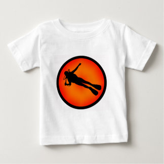 SCUBA AT DUSK BABY T-Shirt