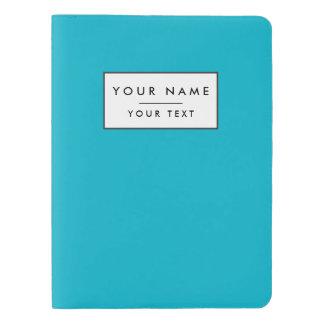 Scuba Blue High End Solid Color Extra Large Moleskine Notebook