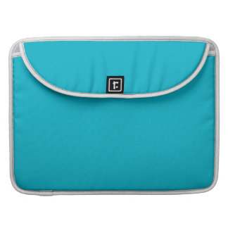 Scuba Blue High End Solid Color Sleeve For MacBook Pro