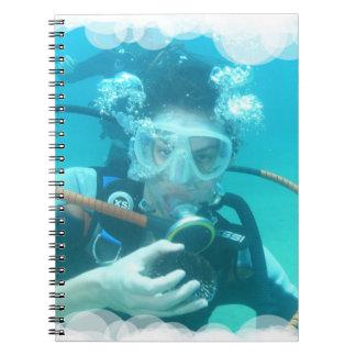 Scuba Bubbles Notebook