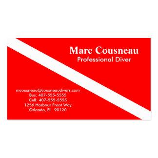 Scuba Business - Personal Card Business Card