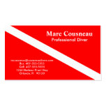 Scuba Business - Personal Card Business Card Template