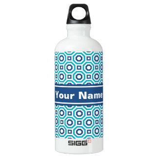 Scuba & Classic Blues Nested Octagon Water Bottle