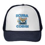 Scuba Corgi Mesh Hat