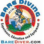 Scuba Crazy Diver Bare Diver www.barediver.com Photo Cut Outs