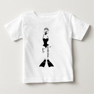 Scuba Diva Baby T-Shirt
