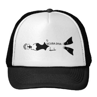 Scuba Diva Trucker Hat
