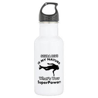 scuba dive design water bottle