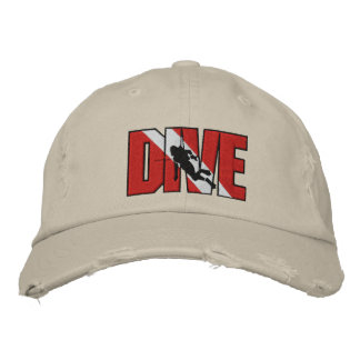 SCUBA DIVE Embroidered Cap