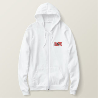SCUBA DIVE Embroidered Embroidered Hoodie