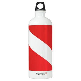 scuba dive flag [Converted].jpg SIGG Traveler 1.0L Water Bottle