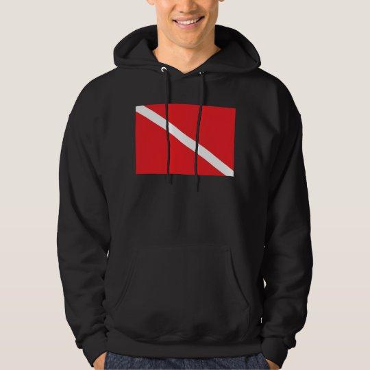 SCUBA Dive Flag Dark Sweatshirt