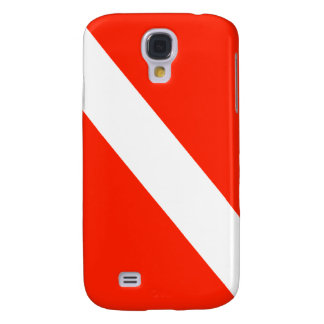 Scuba Dive Flag Galaxy S4 Cover