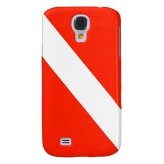 Scuba Dive Flag Galaxy S4 Cover