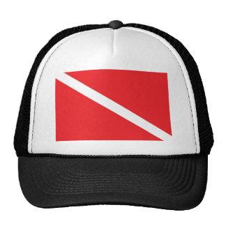 SCUBA Dive Flag Trucker Hat